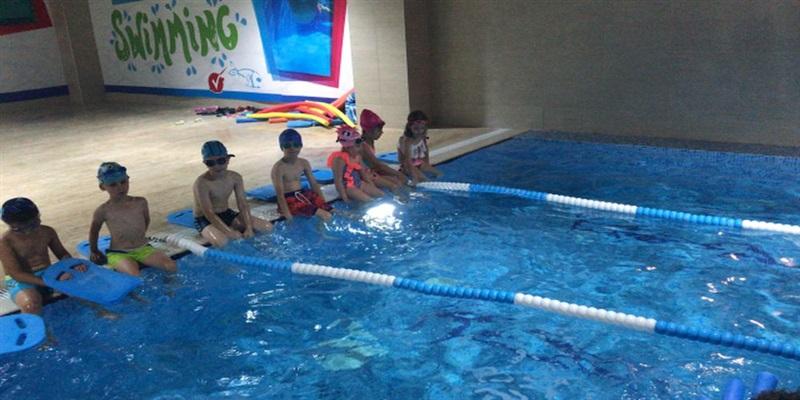Yüzme Dersimiz