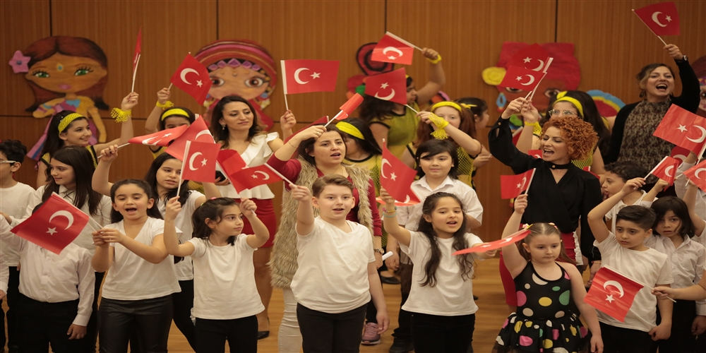 23 Nisan Ulusal Egemenlik ve Çocuk Bayramını Çoşkuyla Kutladık..