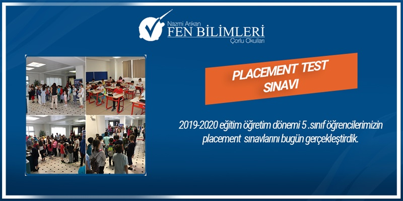 PLACEMENT TEST SINAVI