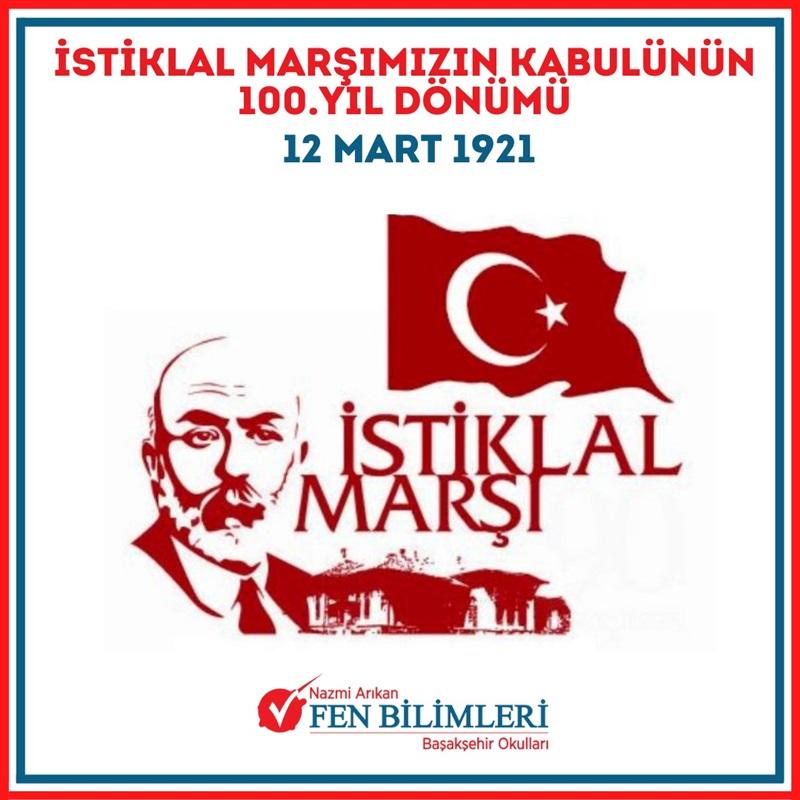 İstiklal Marşımızın 100 yıl dönümü