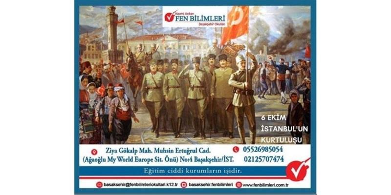 6 Ekim - İstanbul'un Kurtuluşu
