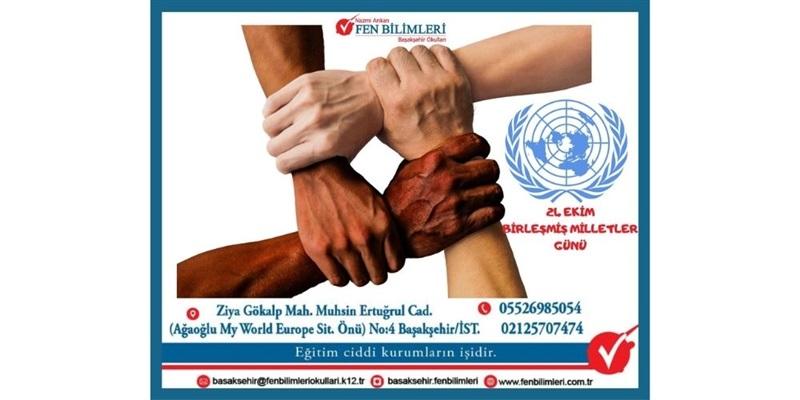 24 Ekim Birleşmiş Milletler Haftası