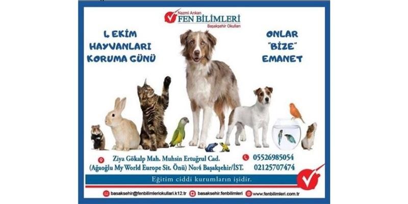 4 Ekim - Hayvanları Koruma Günü