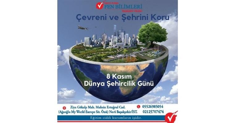 8 Kasım Dünya Şehircilik Günü