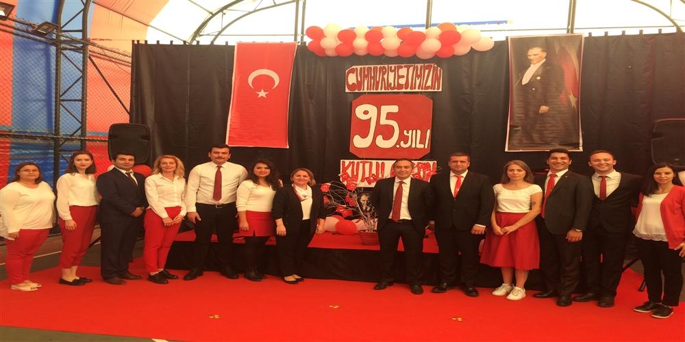 29 Ekim Cumhuriyet Bayramı Kutlamamız