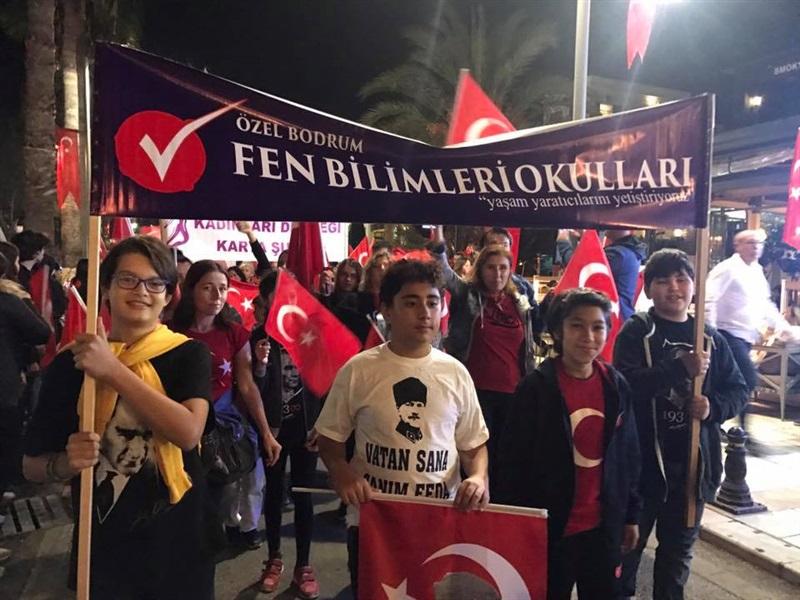 29 Ekim Cumhuriyet Bayramı Fener Alayı