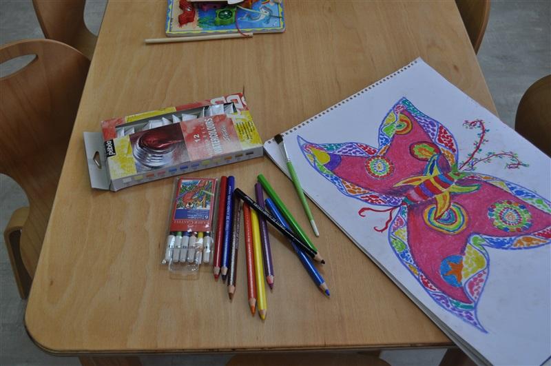 Temel amaçlarımızdan biri öğrencide yaratıcılığı geliştirmektir.