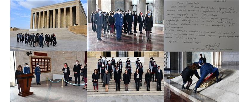 10 Kasım Anıtkabir Ziyareti