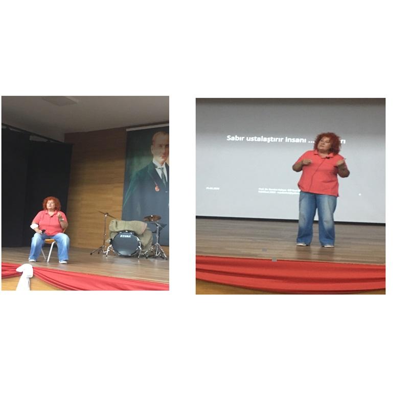 Prof. Dr. Nurdan Kalaycı bizimleydi...