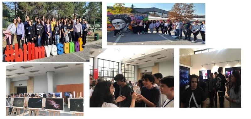 Öğrencilerimiz Bilim ve Sanatı ODTÜ'de Buluşturdu.