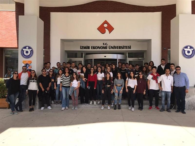 İzmir Ekonomi Üniversitesi ve Dokuz Eylül Üniversitesi Ziyareti