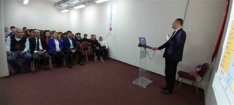 """""""Sınava Hazırlığın Püf Noktaları"""" Konulu Sunum"""