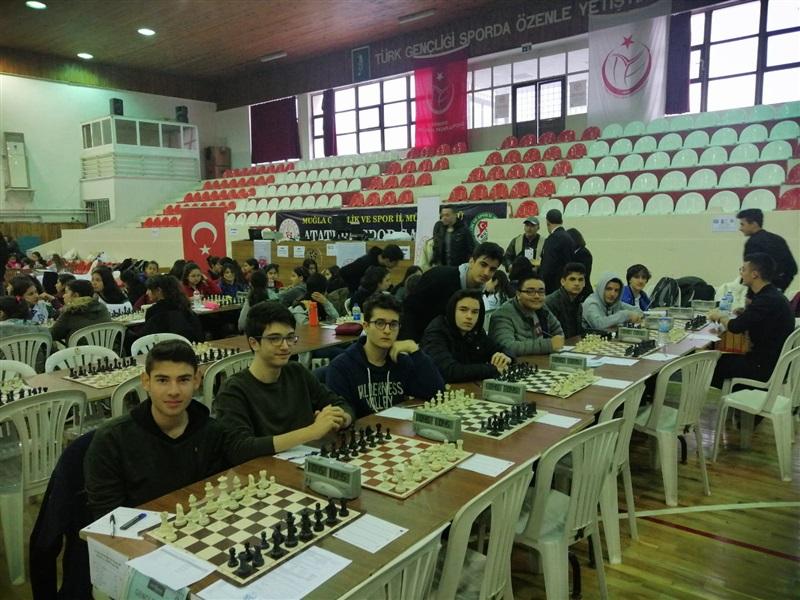 Muğla Gençlik Spor İl Müdürlüğünün düzenlediği Satranç Turnuvası