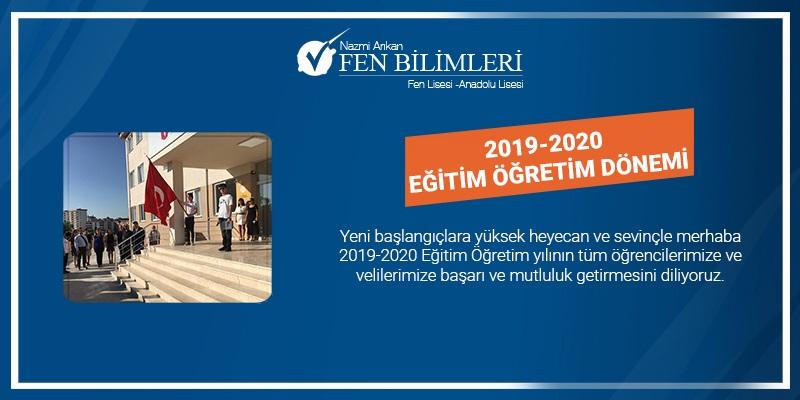 2019-2020 EĞİTİM ÖĞRETİM DÖNEMİ