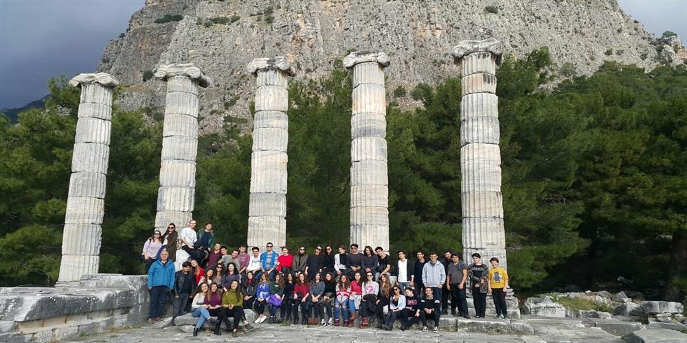 Milet, Efes, Piriene Gezisi