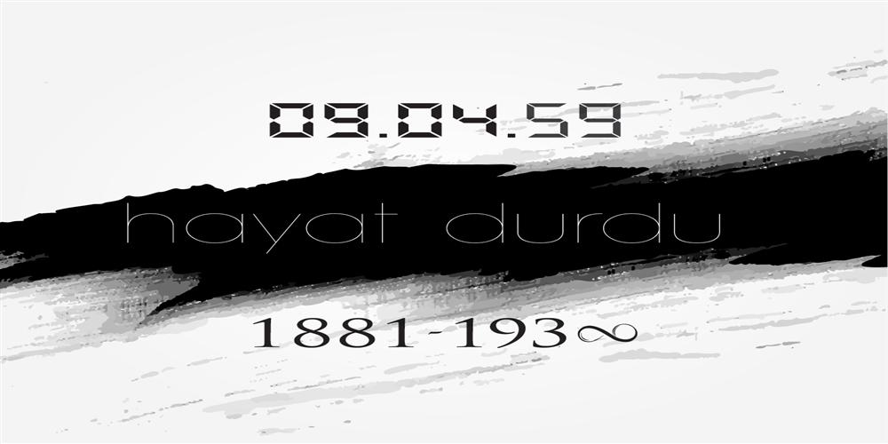 Ulu Önderimiz Mustafa Kemal Atatürk'ün Ölüm Yıl Dönümünü Saygıyla Anıyoruz.
