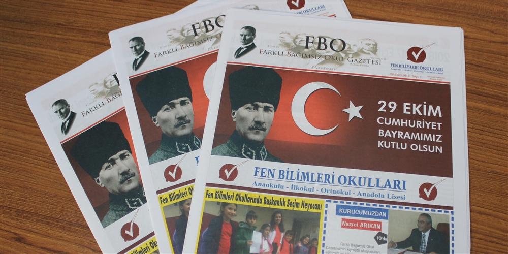 Okulumuz Gazetesinin İlk Sayısı Çıktı